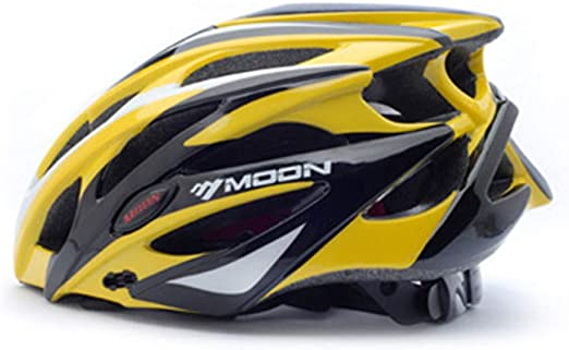 Zavddy-SP Casco de Bicicleta Montaña Adultos y RoadCycling Cascos con ala Desmontable Ajustable Protección Seguridad Deportiva Ware Carretera de la Bici de montaña del Casco de cicli (Color : Yellow): Amazon.es: Hogar