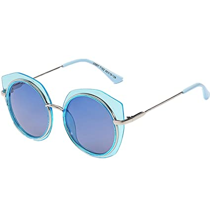 Irregular Polygon Boys Gafas de Sol polarizadas Durable Niños Protección UV Gafas de Sol Pesca al