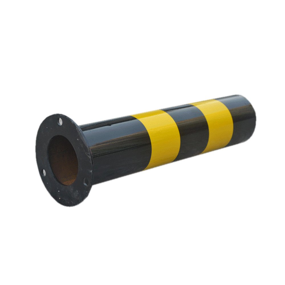 Fixed Traffic Road Pile Bollard Warning Post Parking Barrier Barricade logas