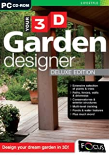 Exceptionnel Your 3D Garden Designer Deluxe Edition