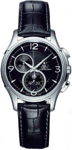 Hamilton Men's H32372735 Jazzmaster Black Guilloche Dial (Black Guilloche Dial)
