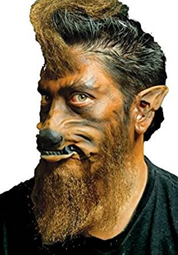 Cinema Secrets Men's Werewolf Pre-Painted Nose & Mouth