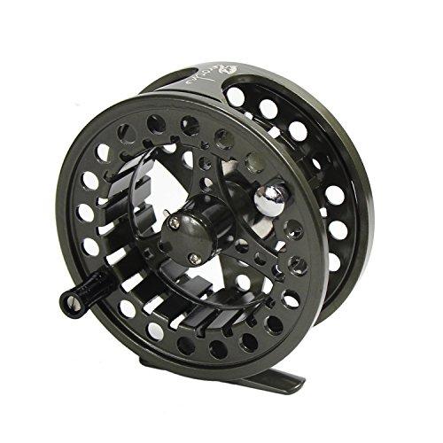 Croch Fly Fishing Reel with CNC-machined Aluminum Alloy Body 3/4 Gun Green - La Fly Reels