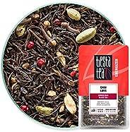 Tiesta Tea | Chai Love, Loose Leaf Spiced Chai Black Tea | All Natural, High Caffeine, Energize | Cardamom and