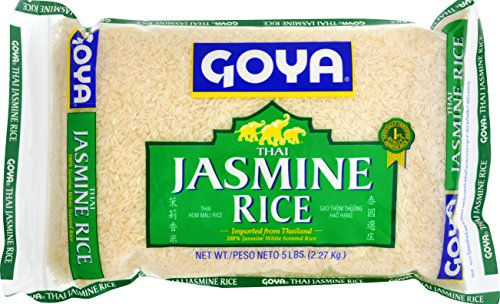Goya Foods Jasmine Rice, 5 Pound (Pack of 8)