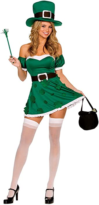 IM Irish Leprechaun Adult Costume Dreamgirl 5199