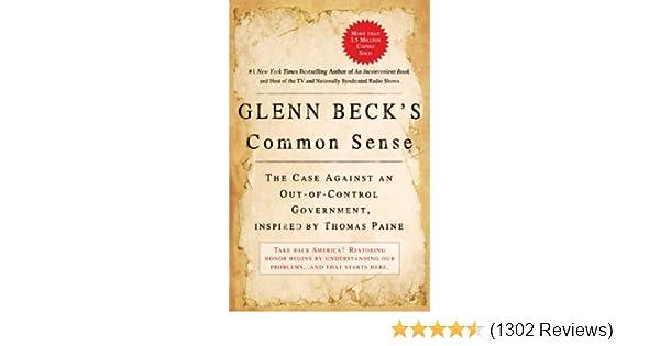 glenn beck s common sense beck glenn