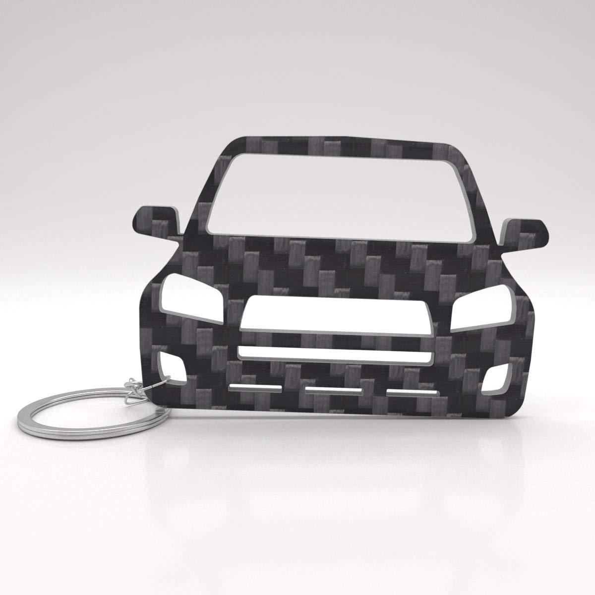 Saab 96 Automobil PKW Motivgravur auf Schlüsselanhänger inkl Textgravur