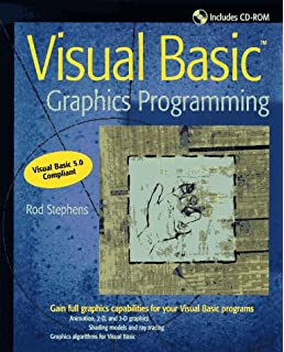 Visual Basic Graphics Programming 2nd Edition [Book & CD Rom