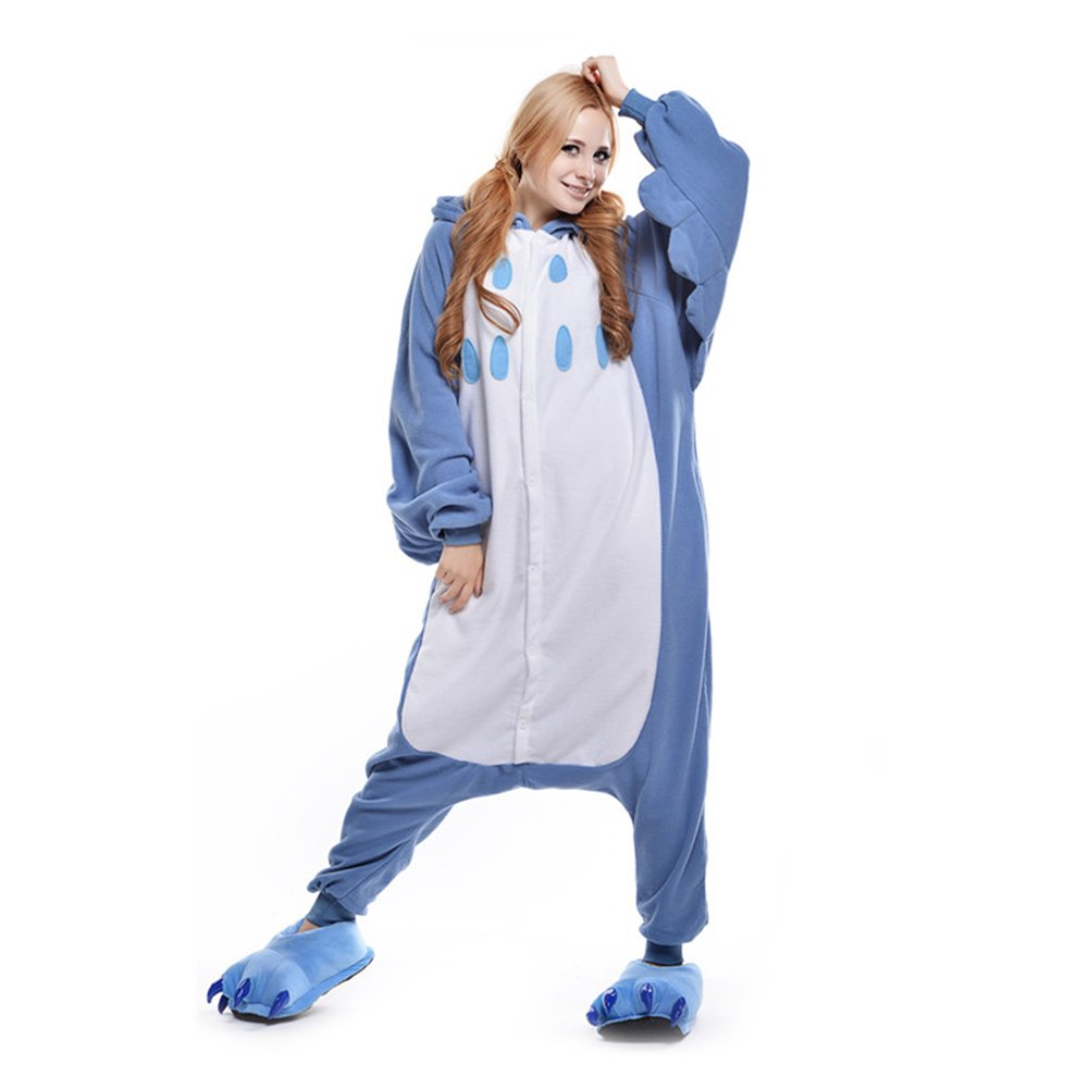 LPATTERN Cosplay Disfraz Pijamas Animales Carnaval Fiestas Partidos Franela Adultos Mujer Hombre Lechuza S Violeta clara: Amazon.es: Juguetes y juegos