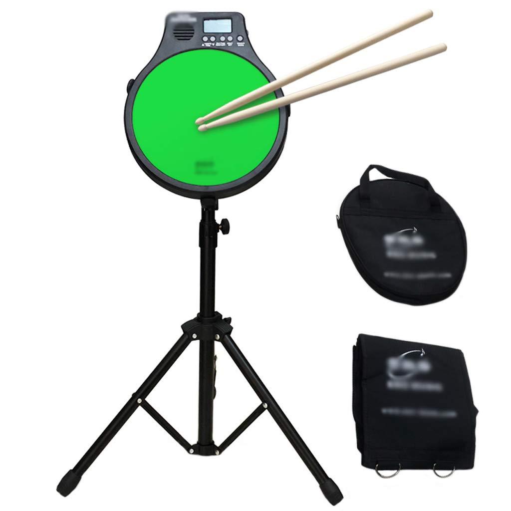 大特価!! DUWEN 電子ドラムドラムキット12インチのダムドラムパッドセットサイレントプラクティスドラムメトロノーム機能楽器 (色 Green) Green : Green) B07L3F23L5 Green B07L3F23L5, はくでん:998c5eb9 --- a0267596.xsph.ru