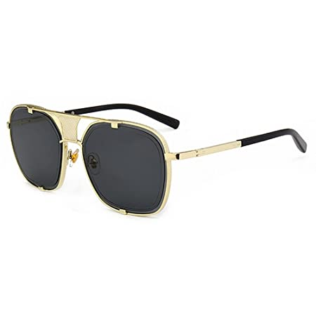 4399997121 Novelty Designer Shades Retro Style Metal Rimmed Sunglasses For Women Men  UV Protection For Driving Vacation