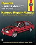 Hyundai Excel and Accent, 1986-1998, Mike Stubblefield and Louis LeDoux, 1563922908