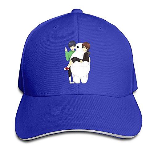 Harriy Dan Phil Animated-big Cartoon Running Sandwich Hat (Tyler Wentworth Accessory)