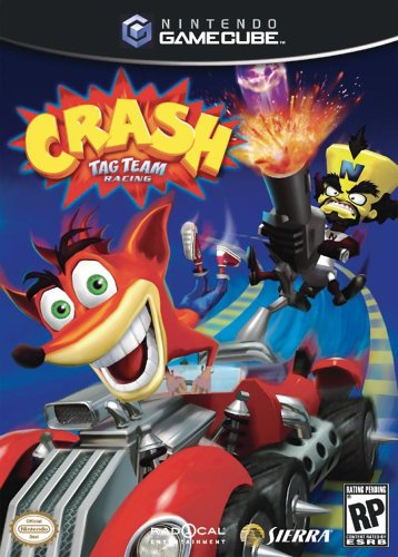 Crash Tag Team Racing - - Racing Games Gamecube