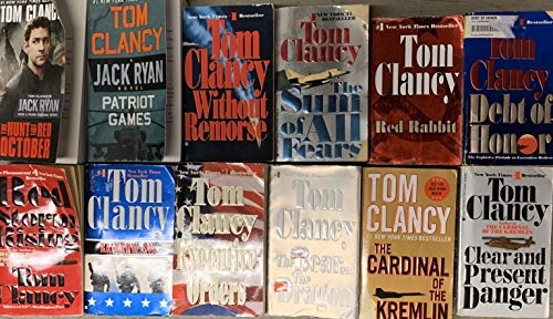 Jack Ryan Tom Clancy 12 Book Set