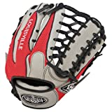 Louisville Slugger 12.75-Inch TPX HD9 Hybrid Defense Ball Glove - Scarlet/Gray (Right Hand Throw)