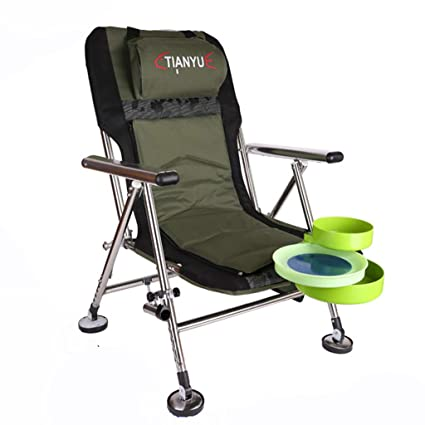 Amazon.com : LOVEPET Folding Fishing Lounge Chairs, Outdoor ...