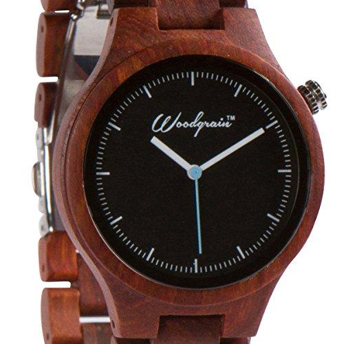 wood-grain-handmade-mens-wrist-watch-natural-red-sandalwood-all-wooden-watch