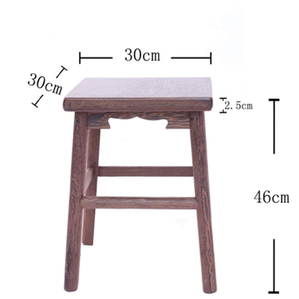 G B.YDCM Wooden Bench- Stool Small Square Stool Restaurant Home Wooden Stool Dining Stool Low Stool Solid Wood Bench Bench - Wood Bench (color   B)