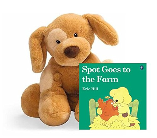 Gund Dog Spunky Plush Toy, Light Brown Tan, Perfect First Friend for Baby or Toddler's Comfort and Security (Plush Toy with ()