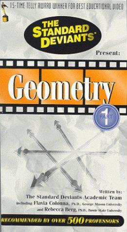 Amazon.com: The Standard Deviants: Geometry, part I [VHS ...