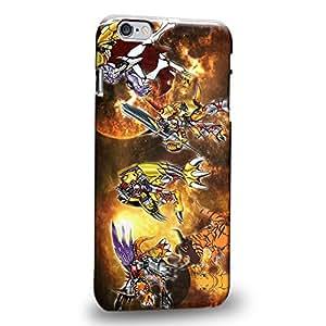 "Imaginative Premium Designs Digimon Adventure Augmon Greymon MetalGreymon WarGreymon 0939 Protective Snap-on Hard Back Case Cover for Apple iPhone 6 Plus 5.5"" by ruishername"