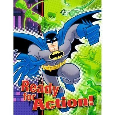 Animated Halloween Party Invitations (Hallmark Batman The Brave and The Bold Party Invitations (8)