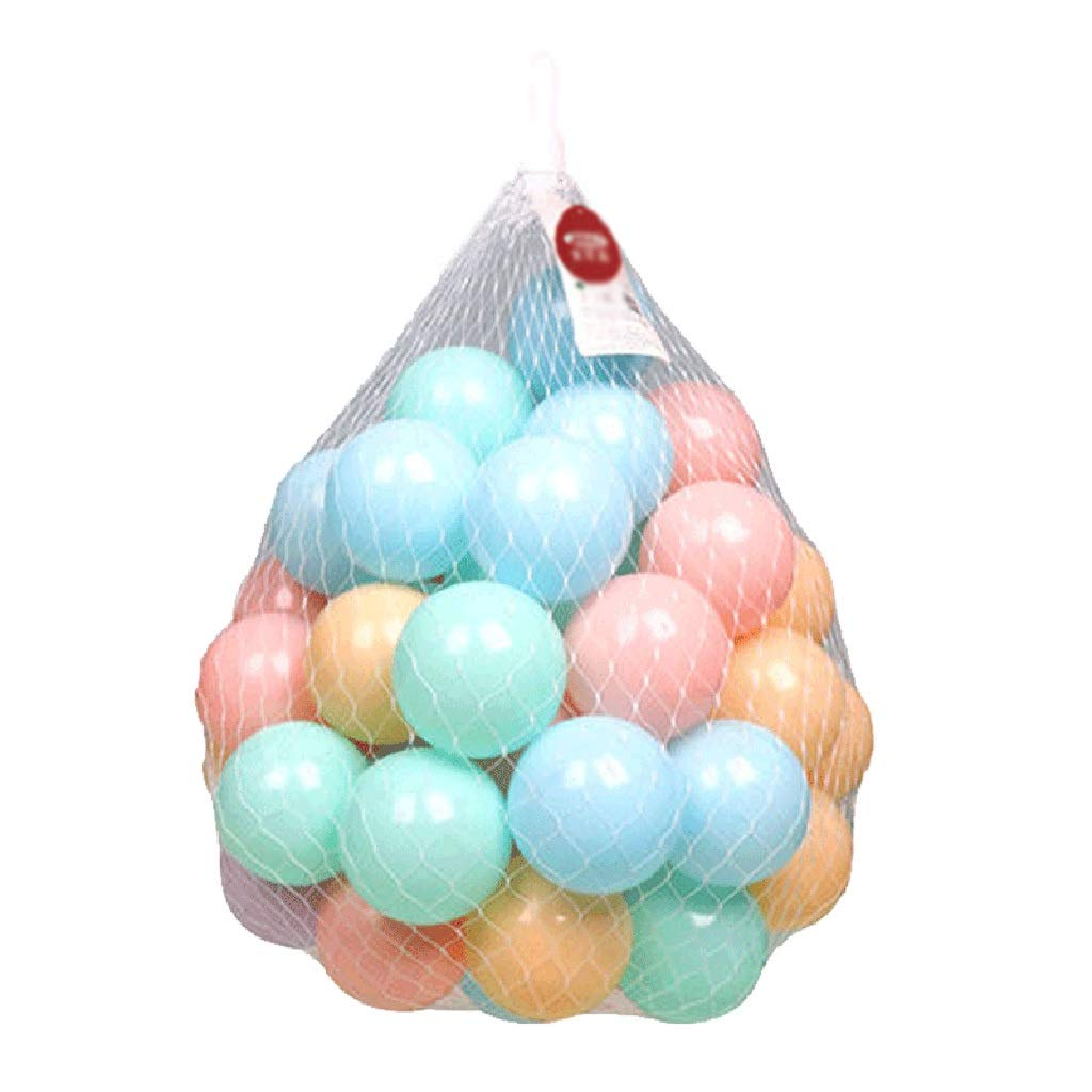 LINGLING-Ocean ball Thick and Tasteless Indoor 3 Years Old Toy Wave Ball Playground Small Color Ball Pool Children's Toys (Size : 400) by LINGLING-Ocean ball