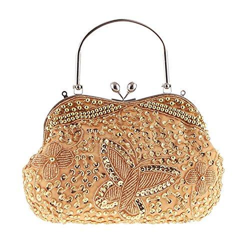 Gold Jeweled Bag - 5