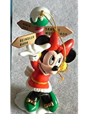 Minnie North Pole Ornament