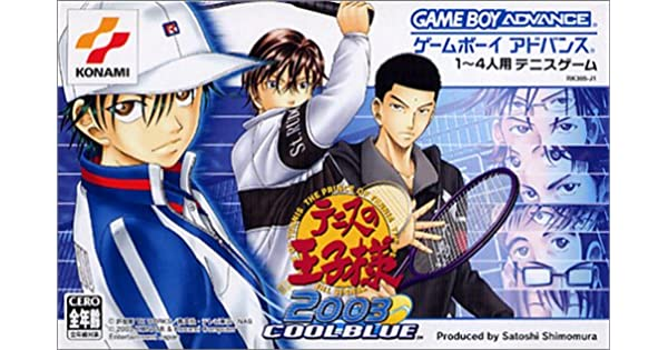 Amazon.com: Prince of Tennis2003 Cool-Blue [Gameboy Advance ...
