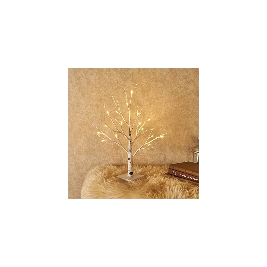 Hairui-Tabletop-Lighted-Tree-Pre-lit-Artificial-Decorative-Tree-Lights-Bonsai-Battery-Powered-with-24LED-Warm-White-18in-for-Indoor-Outdoor-Home-Christmas-Garden-Party-Wedding-Decoration