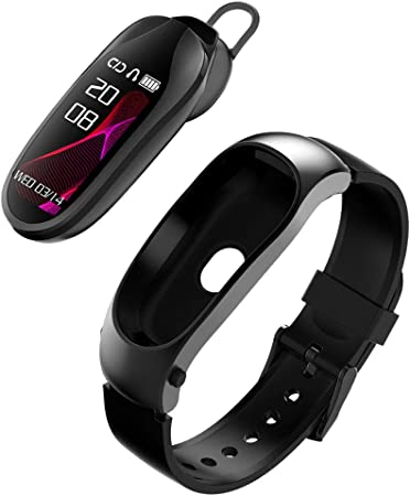 Amazon.com: 2 in 1 Smart Watch and Headset, Bluetooth ...