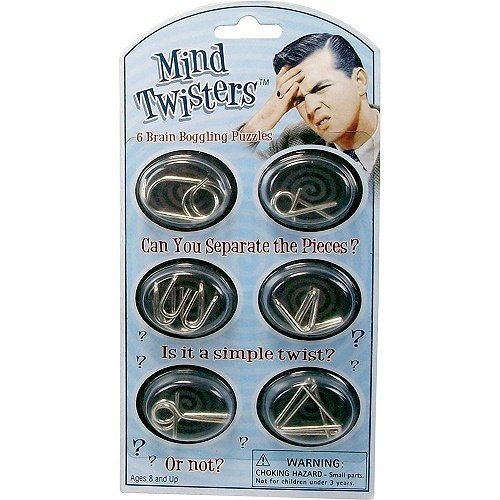 Mind Twisters 6pk Colors & Styles May Vary Westminster 5715
