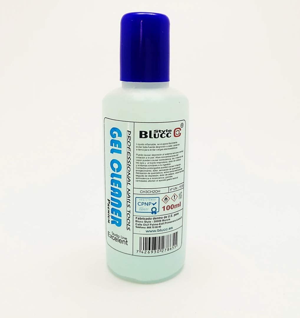 Gel Cleaner 100ml - Eliminar la capa pegajosa de geles UV y ...
