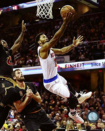 Derrick Rose New York Knicks NBA Action Photo (Size: 8'' x 10'') by NBA