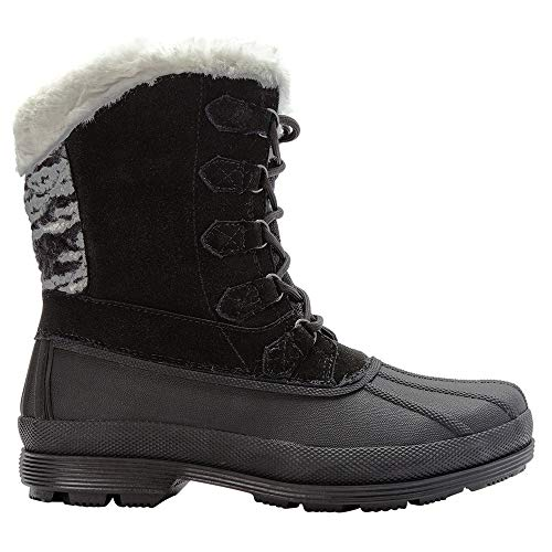 Black Lumi Lace Propét Snow Boot Women's Tall White 5xHHYBwOq