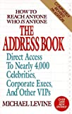 The Address Book, Michael K. Levine, 0399521496