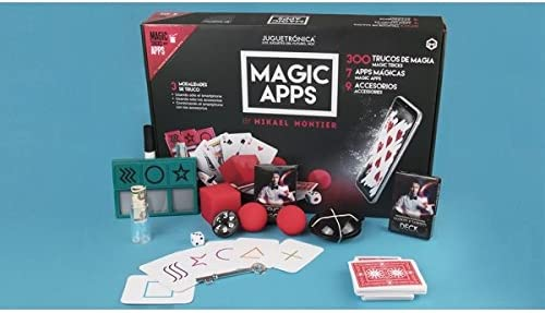 Juguetrónica - Magic apps 300 trucos - Kit de magia que te permite ...