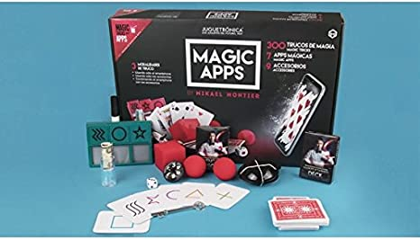 Juguetrónica - Magic apps 300 trucos - Kit de magia que te permite aprender a hacer 300 trucos: Amazon.es: Juguetes y juegos