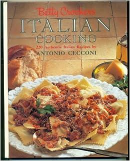 Book Betty Crocker's Italian Cooking 220 Italian Recipes