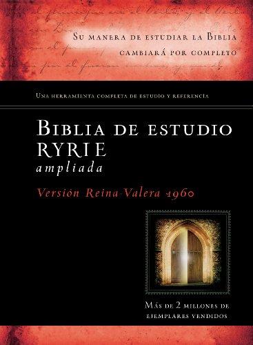Biblia de estudio Ryrie ampliada (Spanish Edition)
