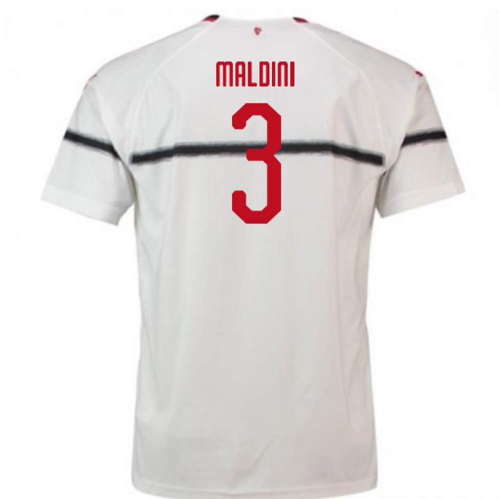 2018-2019 AC Milan Puma Away Football Soccer T-Shirt Trikot (Paolo Maldini 3)