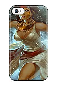 Awesome YRWHkiZ7066DHIVe ZippyDoritEduard Defender Tpu Hard Case Cover For Iphone 4/4s- Gypsy Woman Fantasy Witch Abstract Fantasy