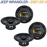 Fits Jeep Wrangler 2007-2014 Factory Speaker Replacement Harmony (2) R65 Package New