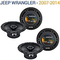 Jeep Wrangler 2007-2014 Factory Speaker Replacement Harmony (2) R65 Package New