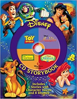 Disney CD The Lion King, the Little Mermaid, Toy Story