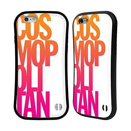 Official Cosmopolitan Stacked Logo Hybrid Case for Apple iPhone 6 / 6s