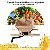 Fruit and Apple Crusher - 7L Manual Juicer